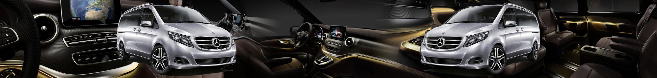 V Class Mercedes Viano Essex Chauffeur Driven Car