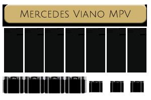 Chauffeur Car Hire Essex Mercedes Viano MPV